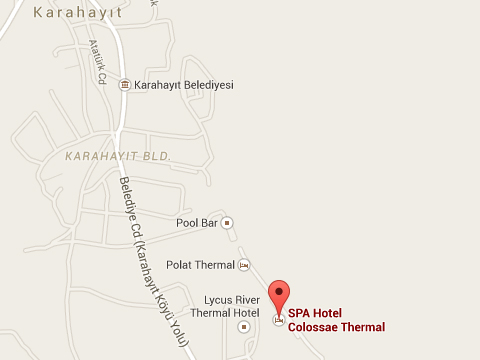 Colossae Thermal & SPA  Plan