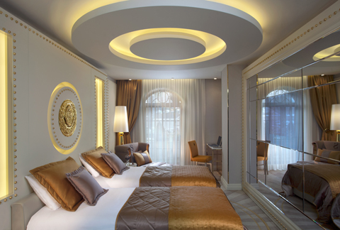 Sura Design Hotel & Suites room